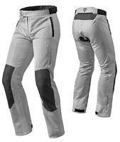 Pantaloni da moto tutte le stagioni 3 strati SHIELD nero con cuciture bianche