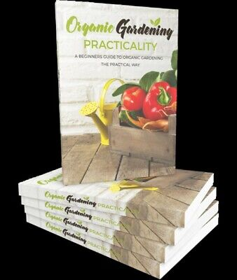 A Beginners Guide To Organic Gardening With Website 1 Year Hosting Plr