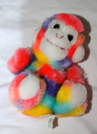 Cute funky monkey soft toy