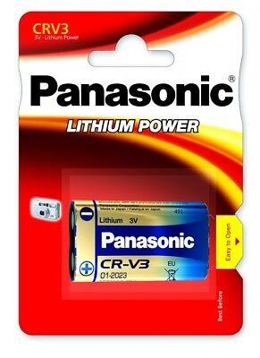 NEW PANASONIC CRV3 3V SINGLE CARDED LITHIUM POWER BATTERIES