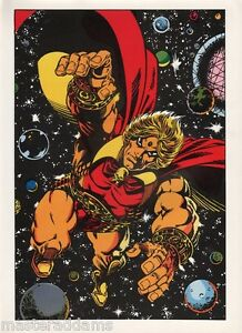 Vintage-1978-WARLOCK-Pin-up-Poster-Marvel-Comics-HIM