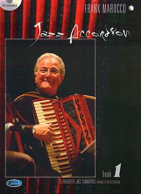 Jazz Accordion Book Band 1 Frank Marocco Songbook Noten für Akkordeon mit CD