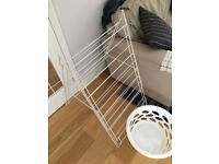 WHITE DRYING RACK