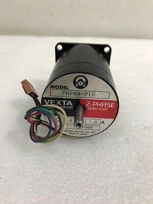 Oriental Motor Co Ltd Vexta Ph268-21b 2 Phase Dc 5.4v Double Side Shaft Motor