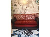 Sofa set 3 X 3 + Swivel chair