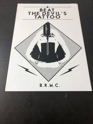 Black Rebel Motorcycle Club Euro Poster Beat the Devil
