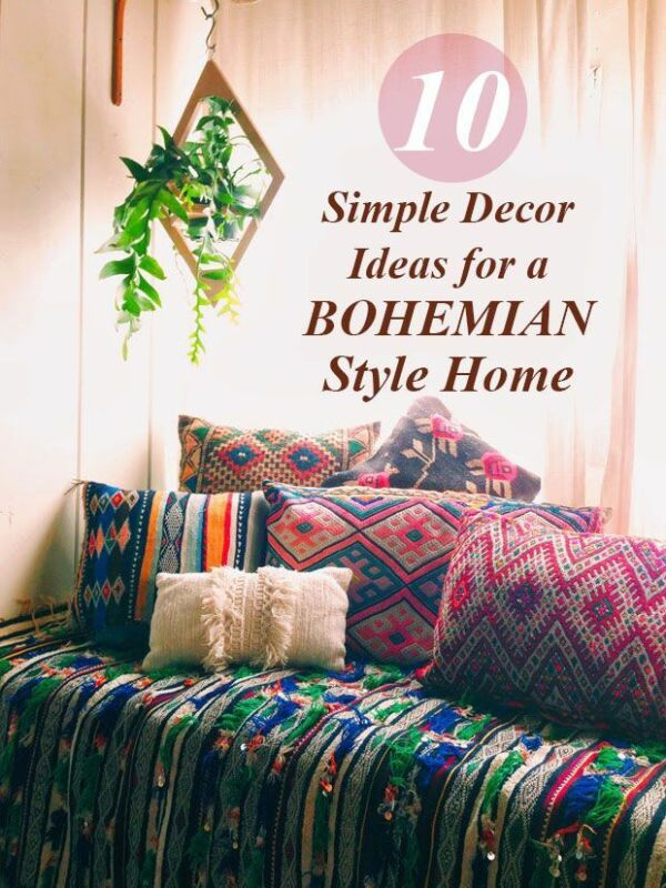 10 Decor Ideas For Your Boho Home Ebay