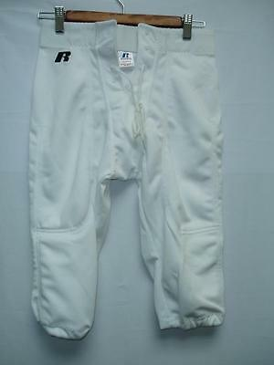 Mens Slotted Football Pants White Polyester Practice New