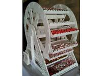 Sweets & Ferris Wheel Cart for Hire (Sweets included) & Doughnut wall starting from £40.00