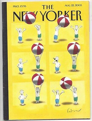 The New Yorker   August 22  2005   Falconer   Target Ad Issue  Billy Graham