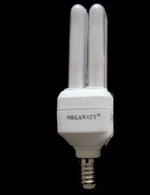1 Lampe E14 Energiesparlampe 7W=ca.25 Watt 61mA 2700K weiß MEGAWATT , gebraucht gebraucht kaufen  Feldkirchen