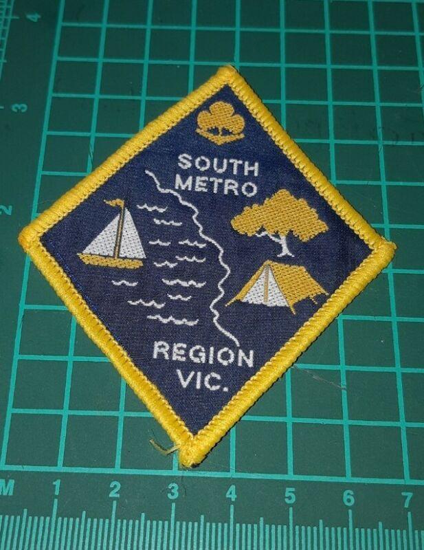 South Metro Region Victoria Girl Guide Badge