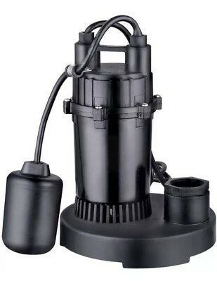 Lightly Used Utilitech 0.33-hp Aluminum Submersible Sump Water Pump