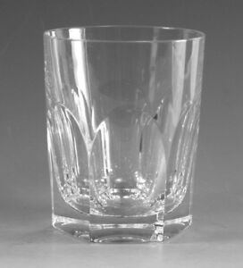 ATLANTIS Crystal - ARCADAS Cut - Tumbler Glass / Glasses - 3 7/8