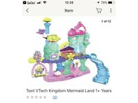Toot Toot Vtech Mermaid Land castle with Pearl figure