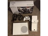 Microsoft Xbox One S 1TB ( GOW Download Not Included) White Console