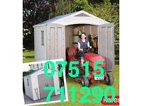 "Keter 8 Ft 5"" X 11 (2.6m X 3.3m) Plastic Shed"
