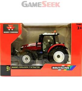 BRITAINS 43107 1:32 MASSEY FERGUSON 7718 TRACTOR DIECAST FARM MODEL - TOYS/GAMES