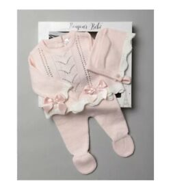 Baby girls knitted suit
