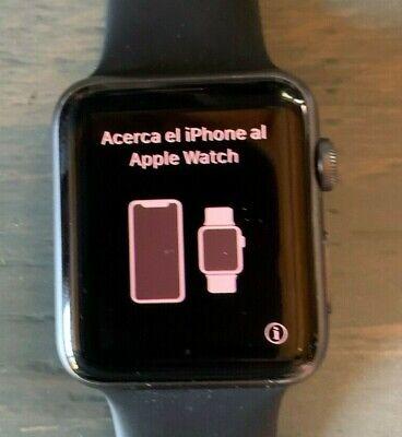 Apple Watch Series 1 42mm Space Gray Aluminum Black