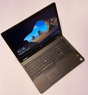 NEW NIB DELL LATITUDE E5570 LAPTOP, i7-6820HQ, 256GB SSD, 8G RAM, 2.5YR Warranty