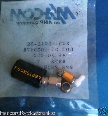 2031-5011-02 MA-COM RF Connector COAXIAL SMA PLUG
