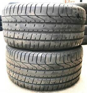 255 35 R18 Pirelli P Zero Used Tyre BMW Mercedes C Class Subaru WRX Vermont Whitehorse Area Preview