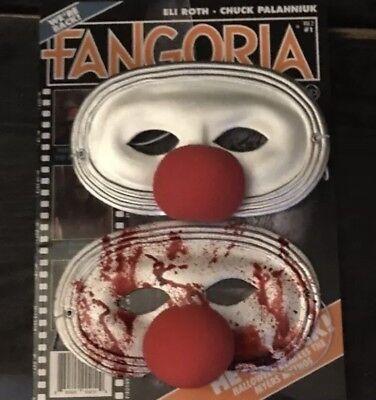 een 4 Jamie's Clown Mask Set (Michael Myers Clown)