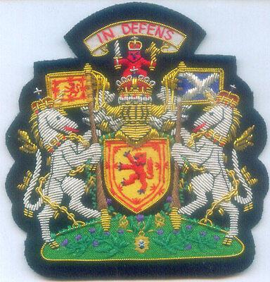 Royal Scottish Scotland Clan Stuart Wallace Roy Cross Kingdom Crest Seal Patch S