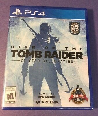 Rise Of The Tomb Raider 20 Year Celebration   W  Ps Vr Mode Support    Ps4  New