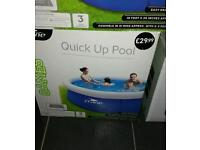 10ft quick up pool