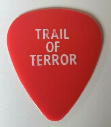 RaRe (1990s) RON WOOD Rolling Stones trail of terror stage used GUITAR PICK
