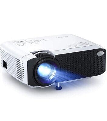 "APEMAN Portable 1080p HD Mini Projector 4500 Lumens Max 180"" LCD - 48hr Delivery"