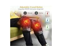 Heated Vibration Knee Massager, Physiotherapy LHeated Vibration Knee Massager, Brace Wrap L