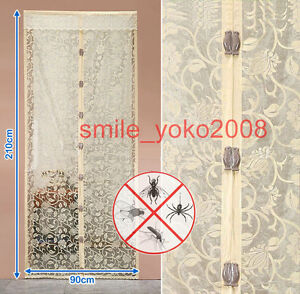 Beige-magnetic-mesh-magic-mesh-screen-magnetic-door-curtain-fly-screen-bugs-out