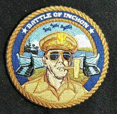 USMC US Marine Corp 4 Inch Patch  BATTLE OF INCHON MacArthur - Bradford Exchange