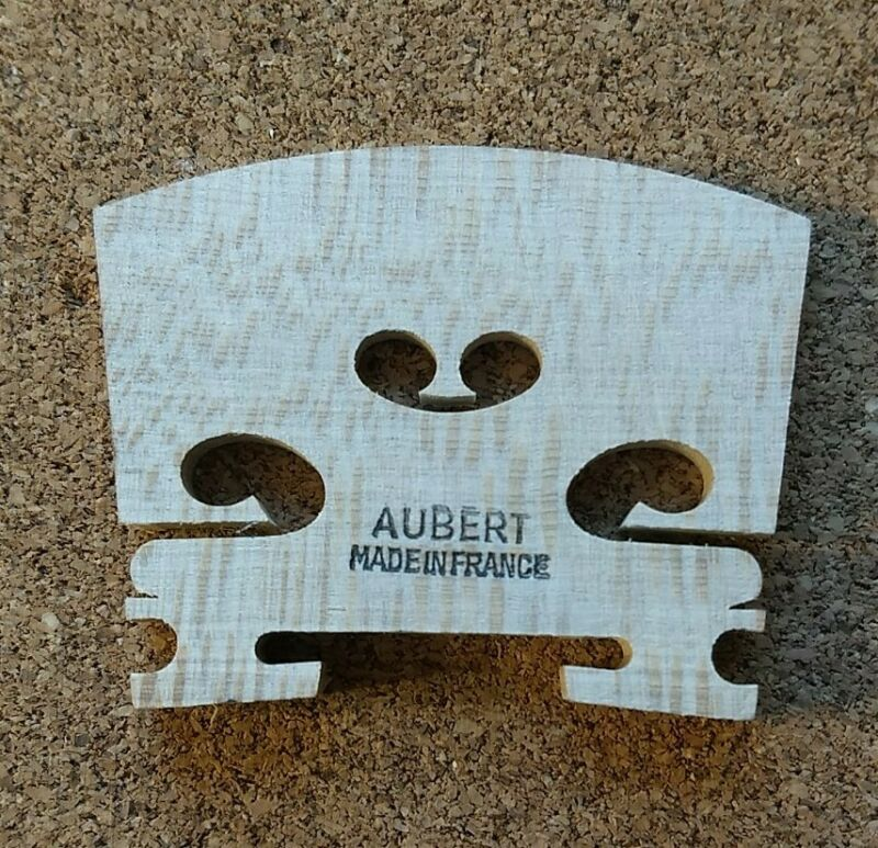 Genuine Aubert 4/4 Violin Bridge Blank