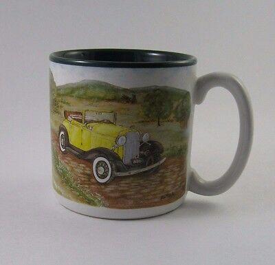 1993 Flowers Inc Antique Car Mug