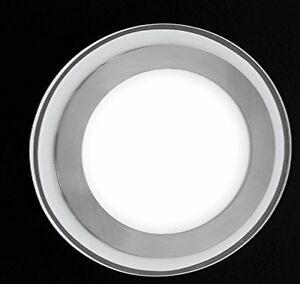 Design led leuchte deckenlampe lampe rund deckenstrahler for Led deckenlampe rund