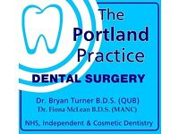 The Portland Practice in Glengormley offers dental nurse permanent 3 day per week position