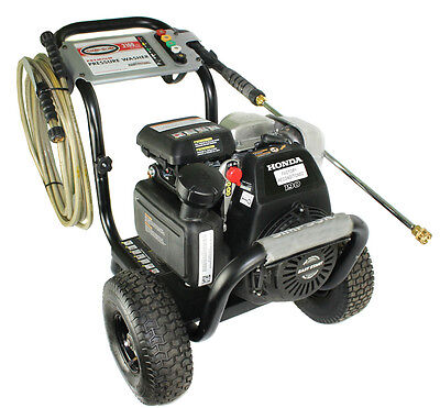 Simpson MSV30125 2.4 GPM 3100 PSI 4 Cy Gas Power Pressure Washer w/Honda Engine on Rummage