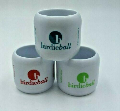 BirdieBalls Set of 3 Limited Flight Practice Golf Balls New Repackaged Training