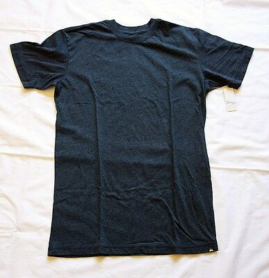 Quiksilver Men's T Current Style In Stores Now 100% Authentic R Neck Grey