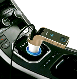 FM Transmitter Multifunction 4-in-1 CAR Bluetooth with USB MP3 Pl