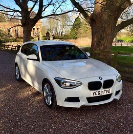 BMW 1 Series 120D M Sport Auto 181BHP 63 Reg £30 yearly tax!
