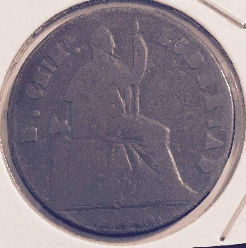 1865 MEXICO 1/4 REALES  COIN FROM A FRESH OLD ESTATE HOARD  (YOU BE THE JUDGE !)