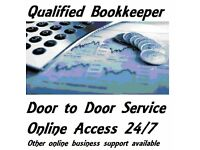 Qualified Bookkeeper - Small Business in and Around Glasgow