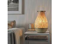 MISTERHULT Ikea table lamp with light bulb