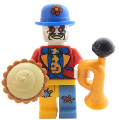 Crazy Clown (NEW LEGO CRAZY CLOWN MINIFIG figure circus minifigure killer zombie)