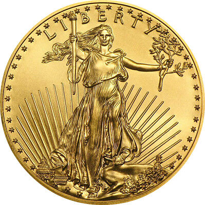 $50 Gold American Eagle 1 oz. Brilliant Uncirculated Random Year